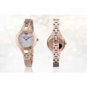Emporio Armani Rose Gold Emporio Armani AR7329 Ladies' Watch