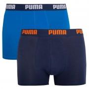 Puma 2PACK pánské boxerky Puma modré (521015001 009) S
