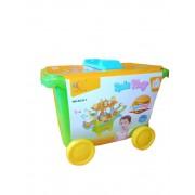 Igračka Kofer trolley Fast food set OP842