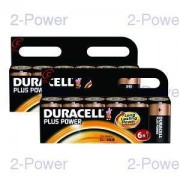 Duracell Plus Power C 2 st 6-Pack