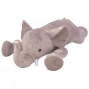 Sonata Плюшена играчка слон, XXL, 120 см