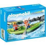 Playmobil Summer Fun, Barcuta pentru rau