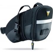 Topeak Aero Wedge Packs Strap Medium - Zadeltas - 1.2 liter - Zwart
