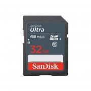 SanDisk Ultra 32 GB Tarjeta De Memoria SDHC De Hasta 48 MB/s