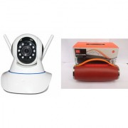 Mirza Wifi CCTV Camera and Mini Xtreme K5 Plus Bluetooth Speaker for SAMSUNG GALAXY ALPHA(Wifi CCTV Camera with night vision |Mini Xtreme K5 + Bluetooth Speaker)
