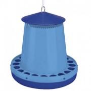 Hranitoare plastic pasari MONTANA albastra, 8kg, 30215, Copele