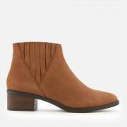 Steve Madden Women's Always Nubuck Western Ankle Boots - Camel - UK 8 - Tan