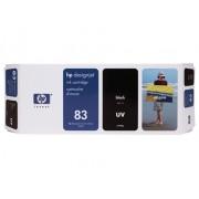 HP Tinteiro UV DesignJet 5000 (C4940A) Nº83 Preto