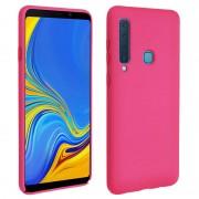 Avizar Soft Touch Funda Rígida Fucsia para Samsung Galaxy A9 2018
