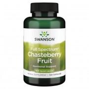 Swanson Drmek Obecný (Chasteberry Fruit) 400mg 120 kapslí