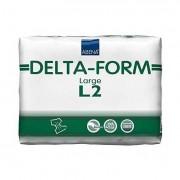 """Delta-Form Adult Brief L2, Large 39"""" - 59"""" Part No. 308863 Qty Per Case"""