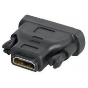 Adapter Transmedia C 197 BL • DVI / HDMI, HDMI-jack 19 pin na DVI-plug 24+1 pin • adapter vrhunske kvalitete