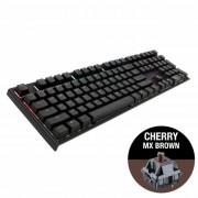 KBD, Ducky One 2 RGB, Gaming, Механична, Cherry MX Brown, USB, Black (1808-BUSPDAZT1)