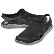 Crocs czarne buty męskie Swiftwater Mesh Wave Black/Slate Grey - M8