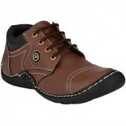 ZebX Brown Casual Boot