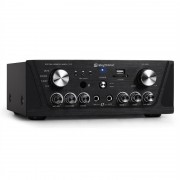 SKYTRONIC 103.134 компактен HI-FI PA Караоке усилвател MP3 USB SD 400W (Sky-103.134)