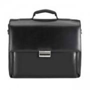 Чанта за 15-инчов лаптоп TUCANO BOPT, Optima, естествена кожа, черен цвят, BOPT