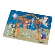 KidKraft Wooden Nativity Peg Puzzle, (6 Piece)