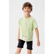 Mango Kids - Tricou copii Tabla 110-164 cm
