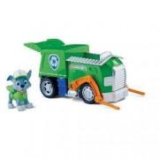 Set Rocky si Camionul de Reciclat Patrula Catelusilor