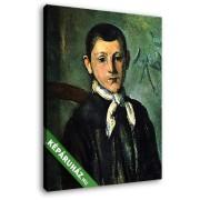 Paul Cézanne: Lois Guillaime portréja, 1882 (20x25 cm, Vászonkép )