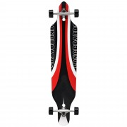 Лонгборд [pro.tec]® Cruising Board skateboard 104 x 23 x 9,5 cm Черен/Червен/Бял