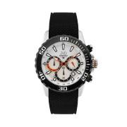 Vysoce odolné spotovní vodotěsné hodinky - chronograf JVD Seaplane J1090.1