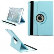 iPad 2018 hoes - 360 graden draaibaar - licht blauw