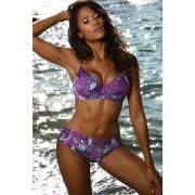 Paradise Purple curves kétrészes női fürdőruha, bélelt