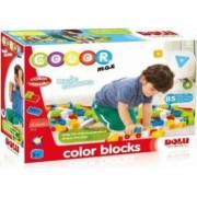 Cuburi colorate de construit DOLU 85 piese Multicolor