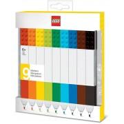 Lego - Bricks Markers 9-Pack
