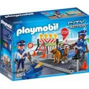 Blocaj Rutier al Politiei Playmobil