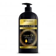 Crema regeneratoare REVUELE Cream-Butter Cell Regeneration 5 in 1 cu Ulei de Argan pentru maini si corp, 400 ml