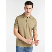 Guess Polo Geborduurd Logo - Groen - Size: Extra Large