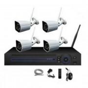 Kit wireless videosorveglianza 4 telecamere