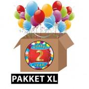 Shoppartners 2 jaar feest versiering voordeelbox XL