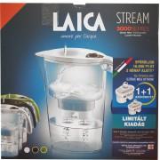 Laica Stream mechanikus vízszűrő kancsó zöld+1 betét