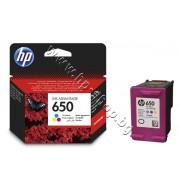 Касета HP 650, Tri-color, p/n CZ102AE - Оригинален HP консуматив - касета с глава и мастило