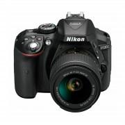 Nikon D5300 AF-P 18-55 VR KIT Black DSLR fotoaparat AF-P 18-55VR VBA370K007 VBA370K007