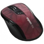 RAPOO Mysz 7100P Czarno-bordowy