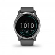 Garmin 010-02174-02 Vivoactive 4 GPS Smartwatch Shadow Gray-silver