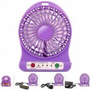 3X SPEED High Speed Cooler Portable Fan Rechargeable USB Ventilator Desk Mini Fan Handheld