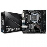 Дънна платка ASRock H310M-ITX/ac, H310, LGA1151, DDR4, PCI-E (HDMI&DP), 4 x SATA3 6.0 Gb/s, 1x M.2 Socket, 2 x USB 3.1 Gen1, WiFi 802.11ac, Bluetooth 4.2, Mini-ITX