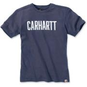 Carhartt Maddock Graphic Block T-Shirt XL Blå