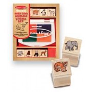 Set De Stampile Pui De Animale Salbatice Melissa And Doug