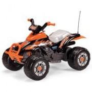 Peg Perego Kvad na akumulator Corral T-Rex nero/arancio IGOR0066