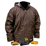 DeWalt DCHJ076ATD1-XL chamarra de trabajo (térmica, talla XL, tabaco)