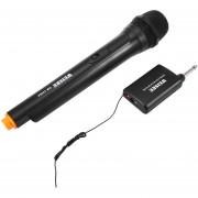 WEISRE DM - 3308A Profesional VHF Wireless Handheld Transmisor De Doble Canal Mic Set