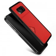 Dux Ducis Pocard Series Premium High Quality and Protect Silicone Case For Samsung G955 Galaxy S8 Plus Red