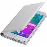 Husa Flip Samsung Galaxy A3 A300 2015 Silver